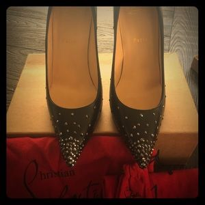 Christian Louboutin Degrastrass 100 KID/STRASS